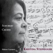 CD Cover Schubert / Chopin CD 2006